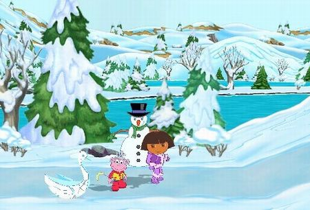 Dora the Explorer: Dora Saves the Snow Princess - 59506