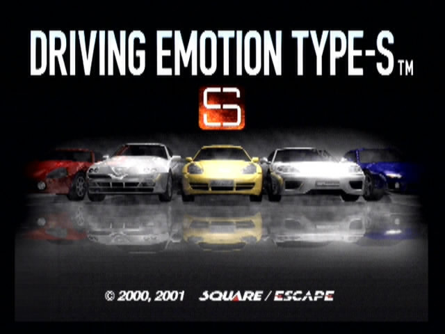 Driving Emotion Type-S - 07428