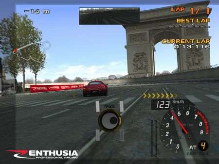 Enthusia: Professional Racing - 47609