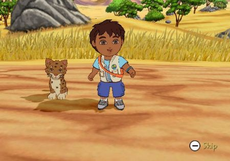 Go, Diego, Go! Safari Rescue - 58776