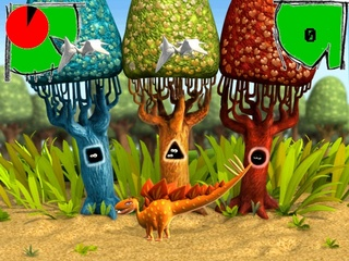 Konami Kids Playground: Dinosaurs Shapes and Colors - 57766