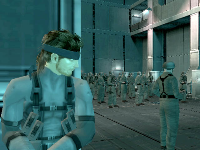 Metal Gear Solid 2: Sons of Liberty - 13374