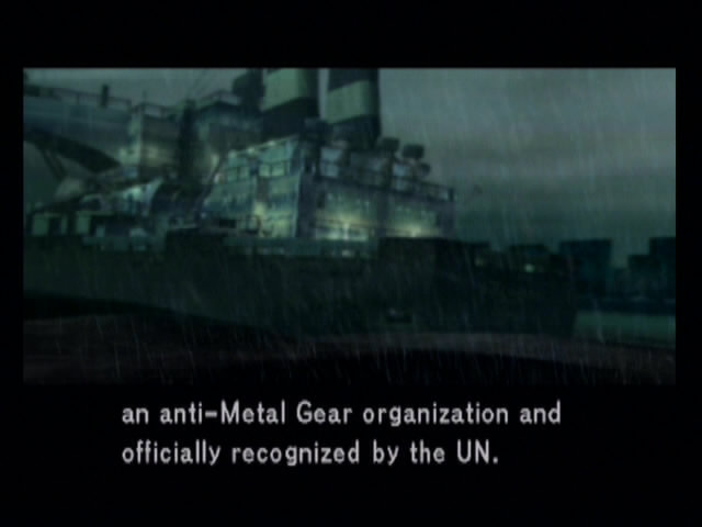 Metal Gear Solid 2: Sons of Liberty - 13332