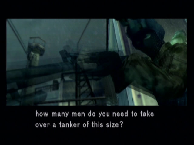 Metal Gear Solid 2: Sons of Liberty - 13338
