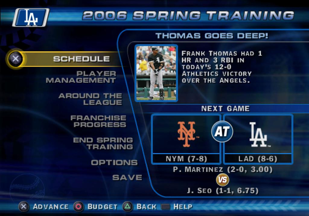 MLB '06: The Show - 52066