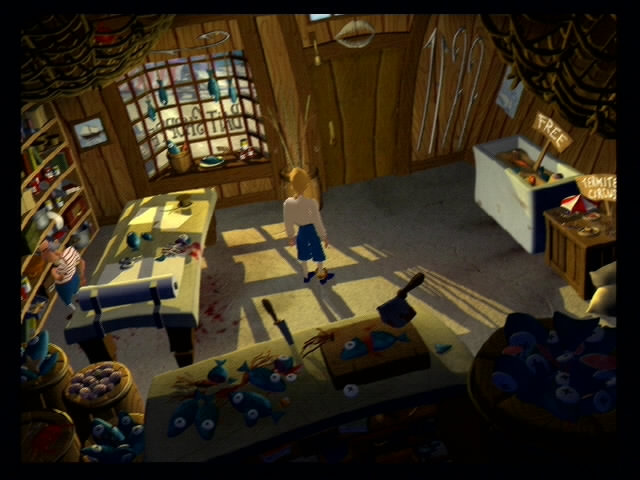 Escape From Monkey Island - 13726