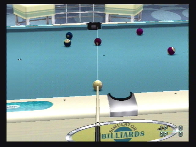 Q-Ball: Billiards Master - 06935