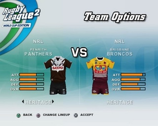 Rugby League 2: World Cup Edition - 59818