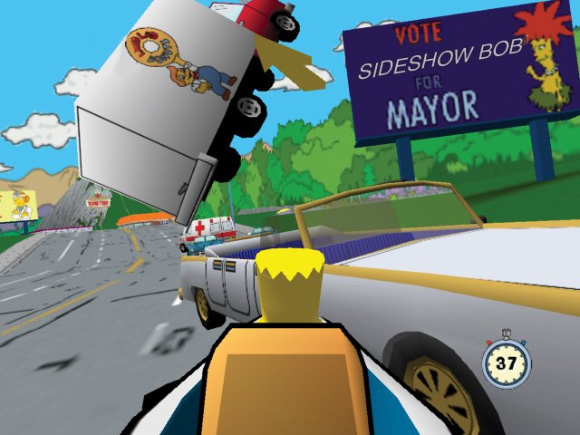 Simpsons Road Rage - 22280