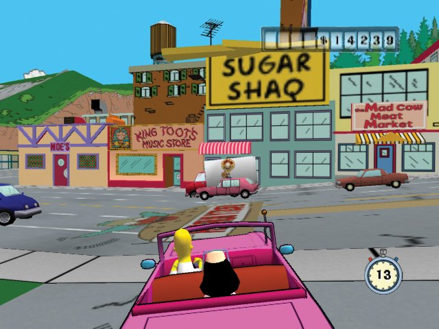 Simpsons Road Rage - 22281