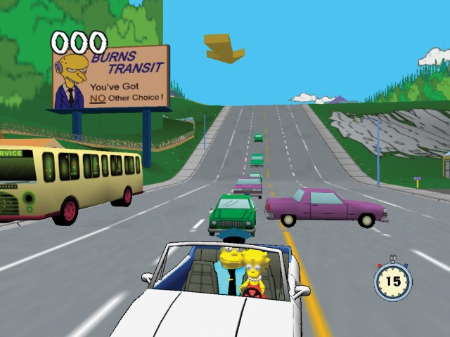 Simpsons Road Rage - 22282