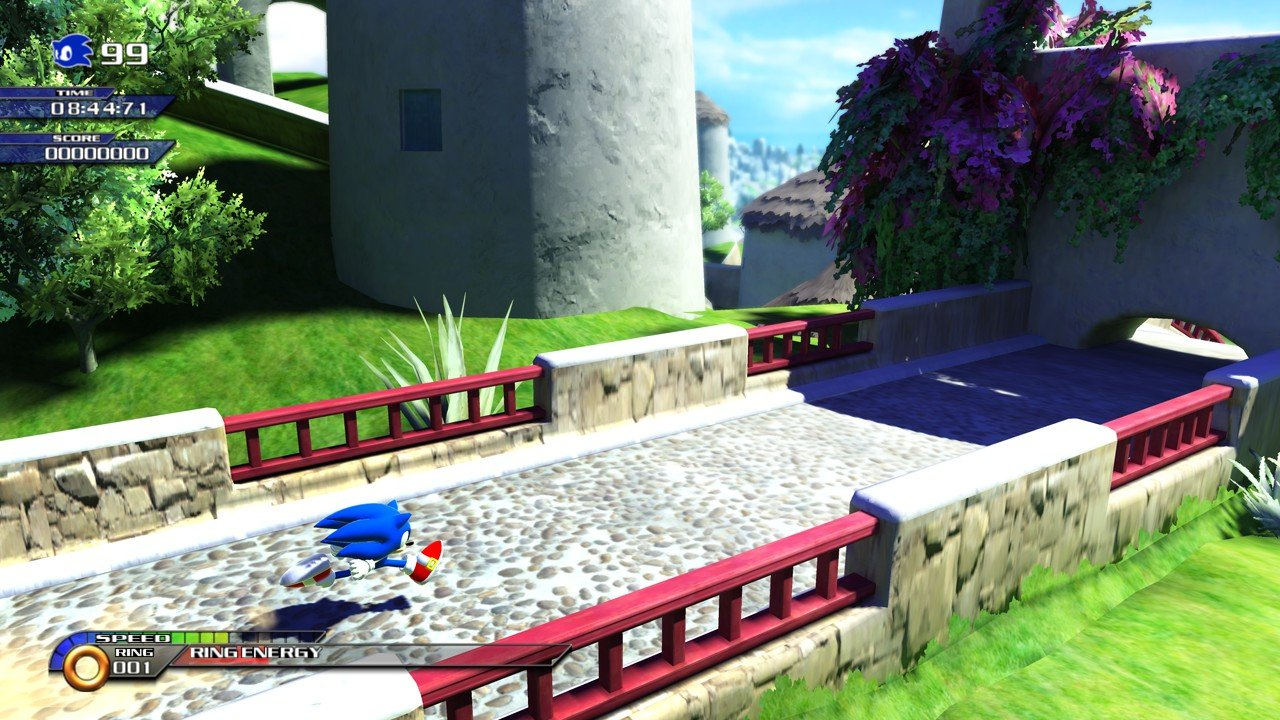 Sonic Unleashed - 59000