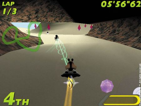Star Wars: Super Bombad Racing - 07334