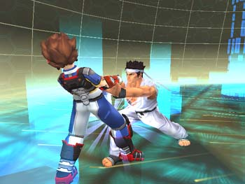 Virtua Fighter: Cyber Generation - 45235