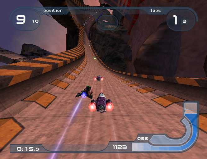 Wipeout Fusion - 25019