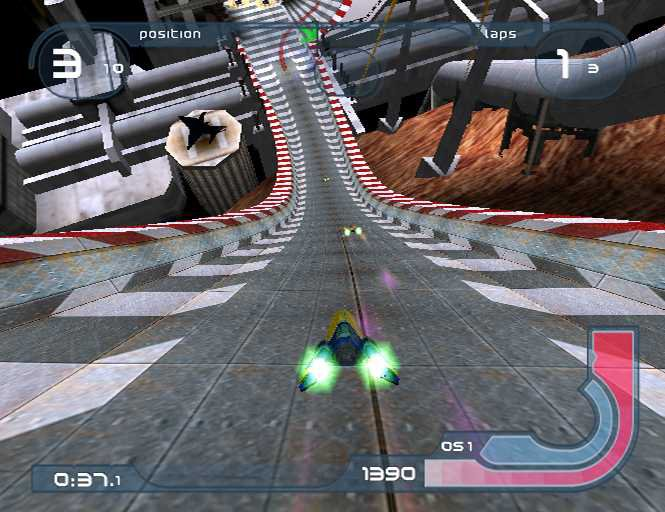 Wipeout Fusion - 25024