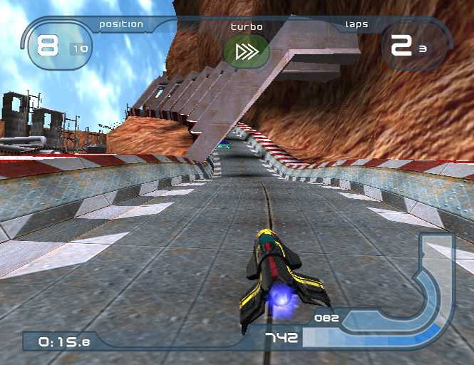 Wipeout Fusion - 25026