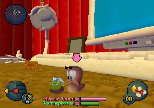 Worms 3D - 40019