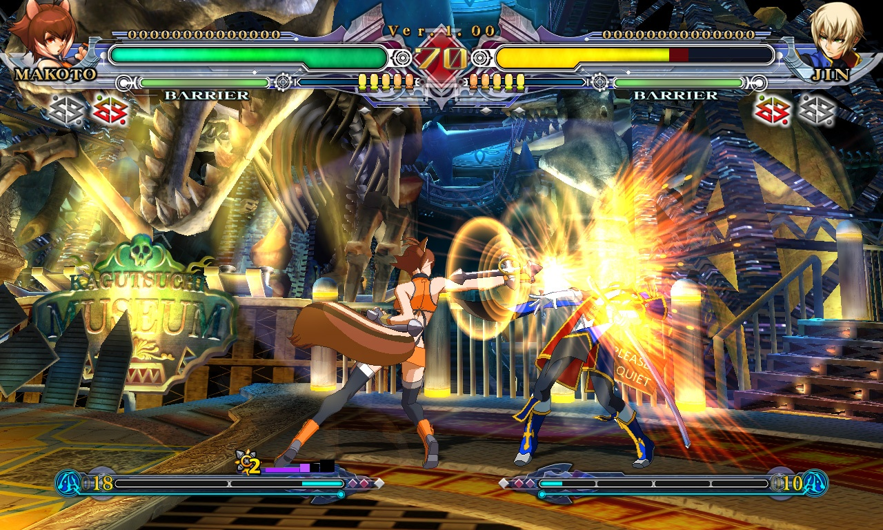 BlazBlue: Continuum Shift - 40810