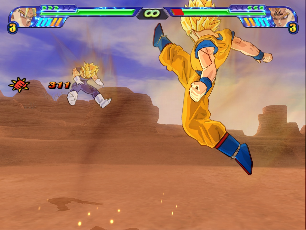 Dragon Ball Z: Shin Budokai 3 - 56794