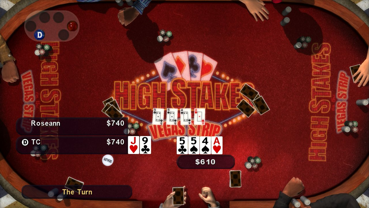 High Stakes Poker on the Vegas Strip - 06557
