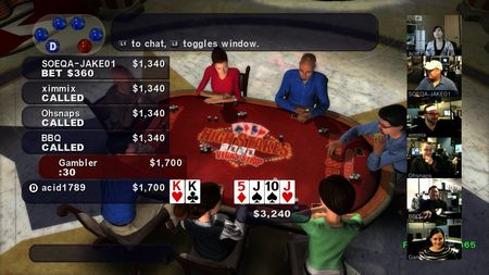 High Stakes Poker on the Vegas Strip - 06558