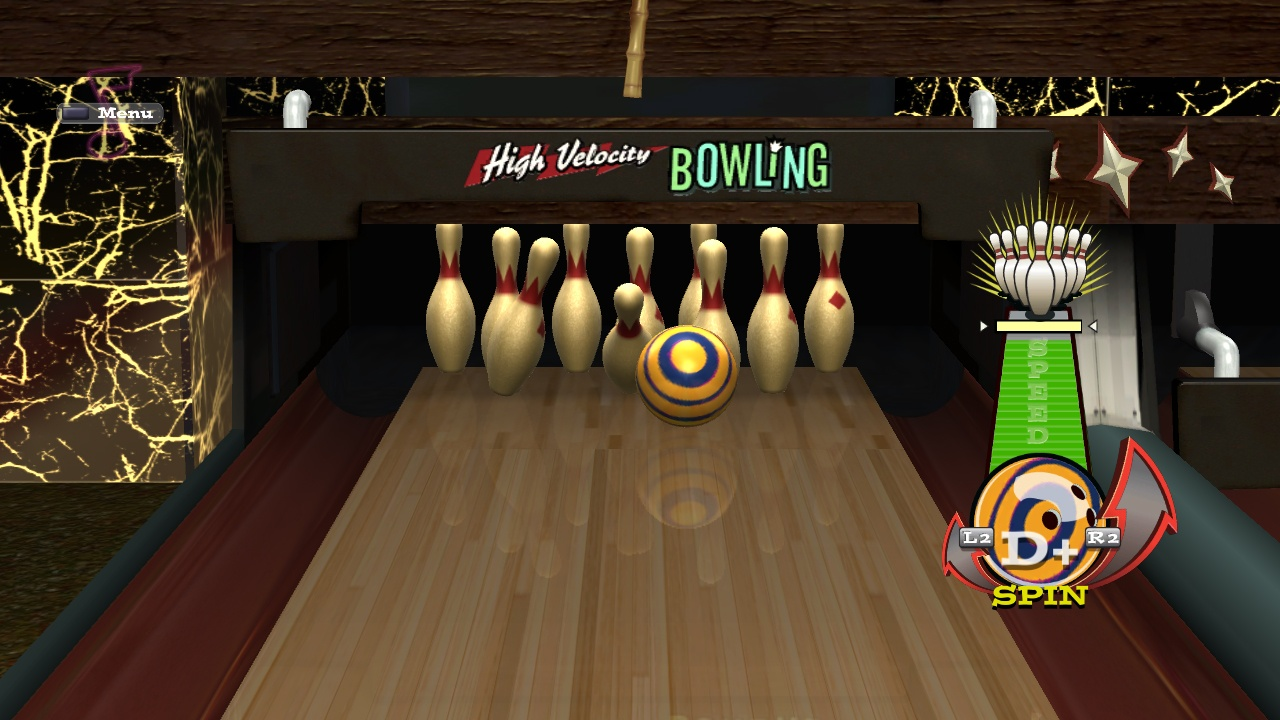 High Velocity Bowling - 16798