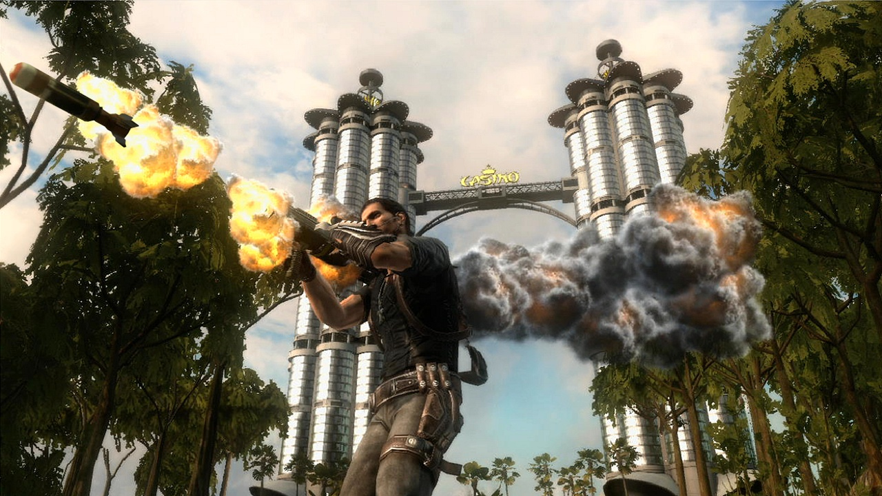 Just Cause 2 Single Link ISO Full with DLC
