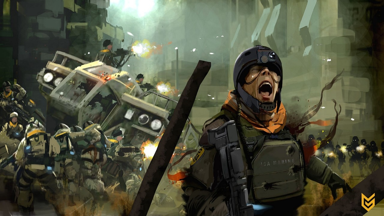 Killzone 2, Artwork, PS3