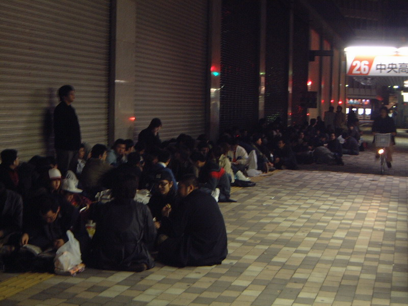 Photos: PS3 Japan Midnight Madness - 02755