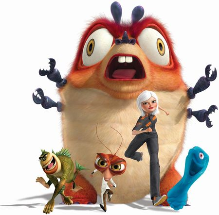 Monsters vs. Aliens - 32111