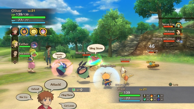 Ni no Kuni: Wrath of the White Witch - 48317
