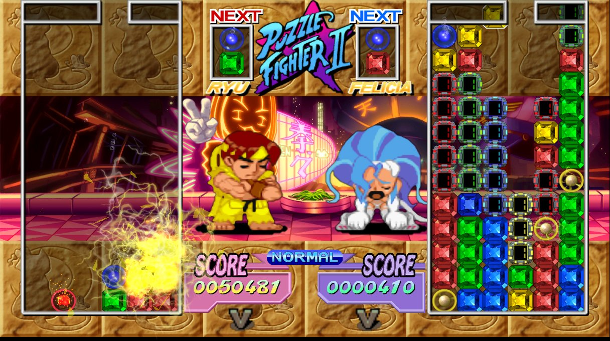 Super Puzzle Fighter II HD Remix - 09953