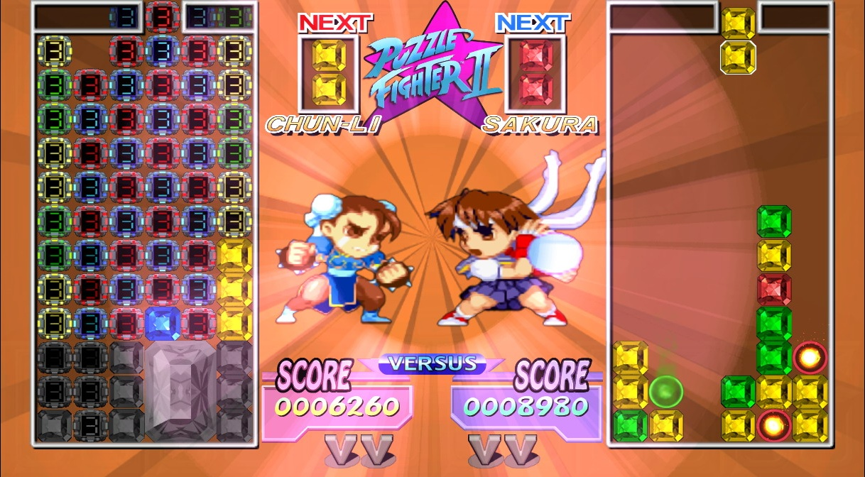 Super Puzzle Fighter II HD Remix - 09945