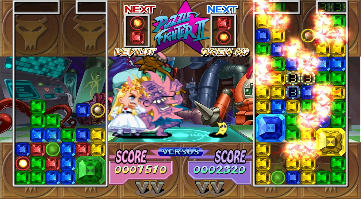 Super Puzzle Fighter II HD Remix - 09949