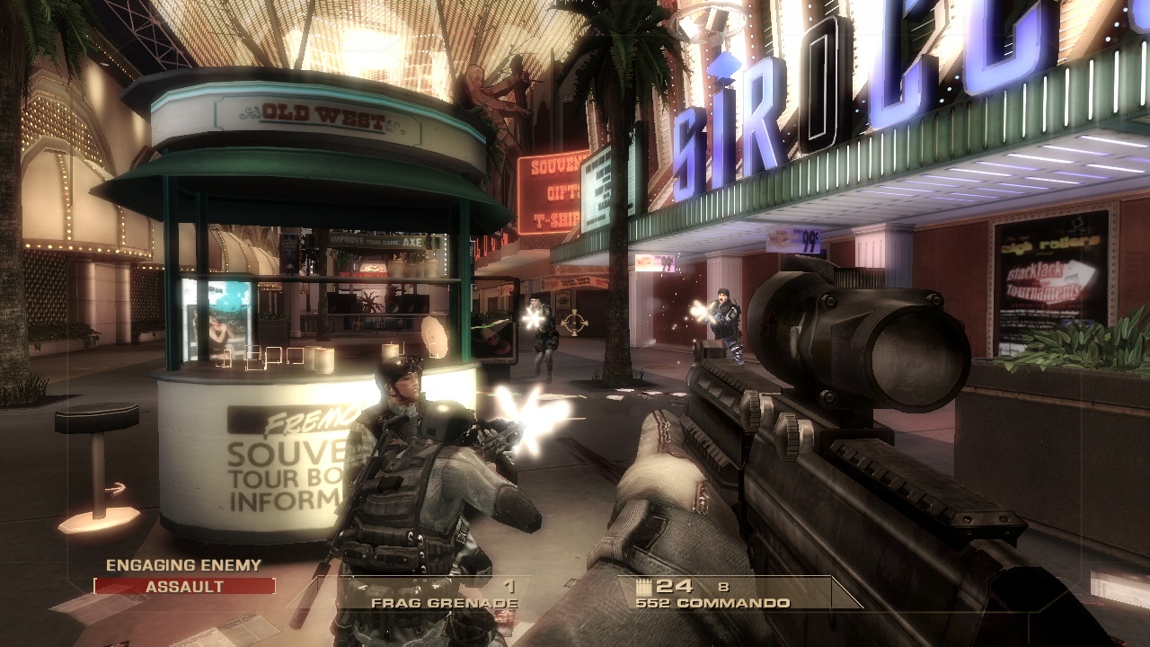 Tom Clancy's Rainbow Six Vegas - 07853