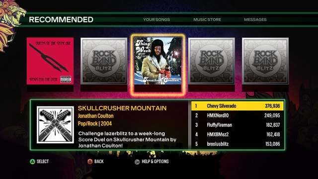 Rock Band Blitz - 47220
