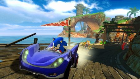 Sonic & Sega All-Stars Racing - 35499