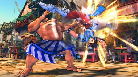 Super Street Fighter IV - 32485