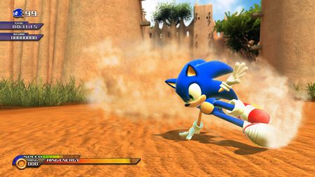 Sonic Unleashed - 30098