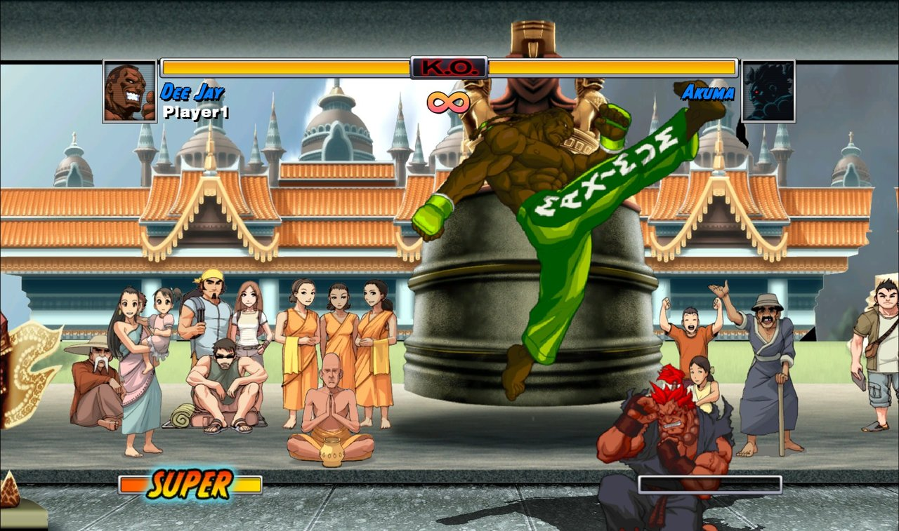 Super Street Fighter II Turbo HD - 30138