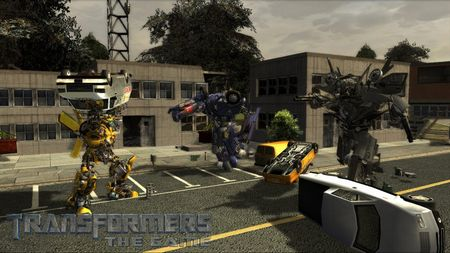 Transformers: The Game - 06585