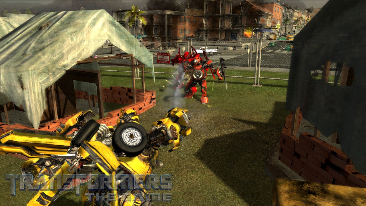 Transformers: The Game - 06587