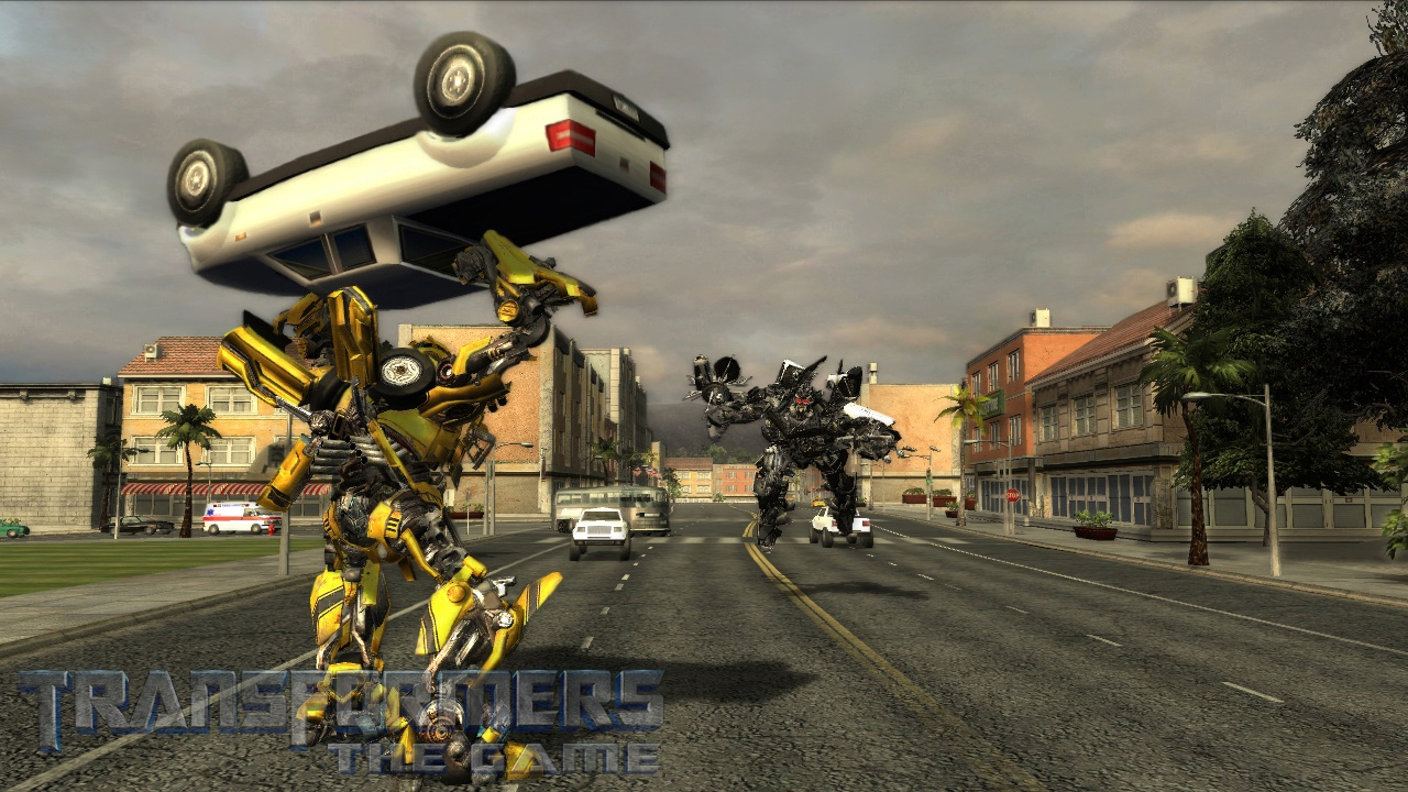 Transformers: The Game - 06588