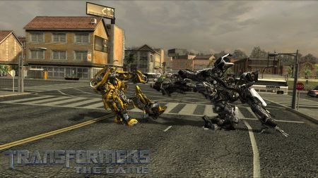 Transformers: The Game - 06581