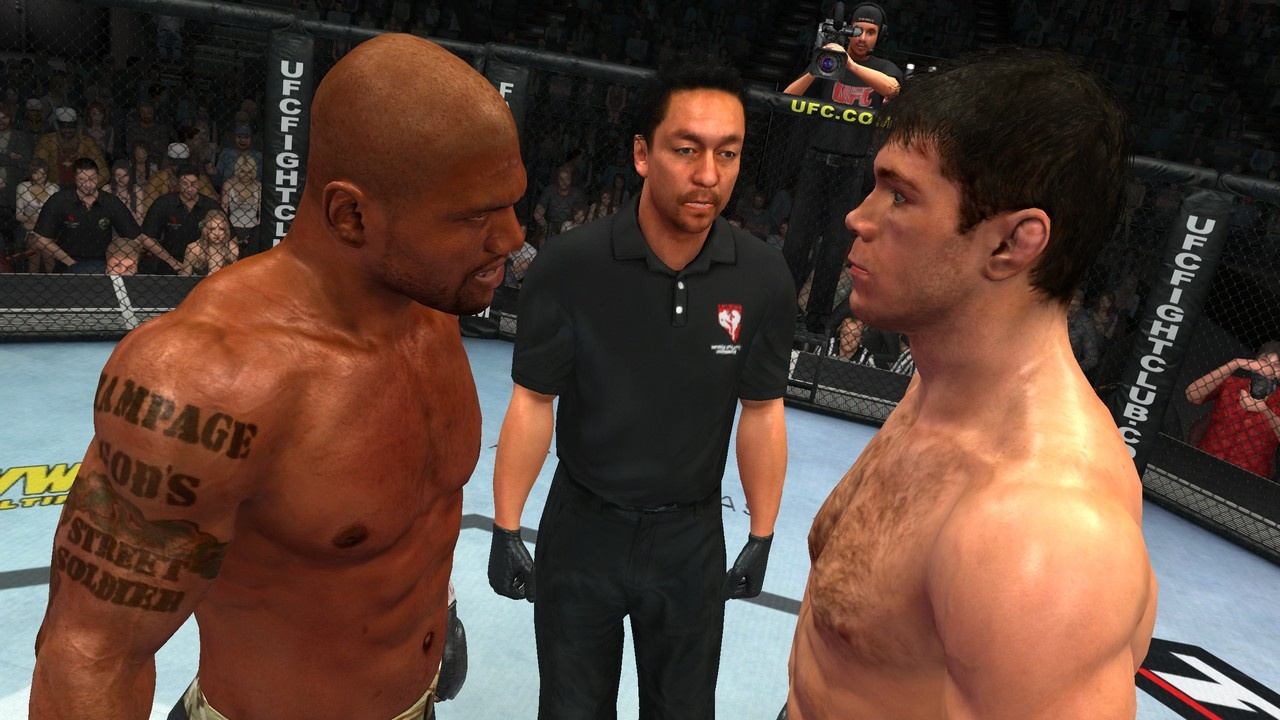 If You Divide The Cost Among Several People, A Pay-per-view Ufc Event Is A Cheap Night Of Entertainment! ps3_ufc2009_06
