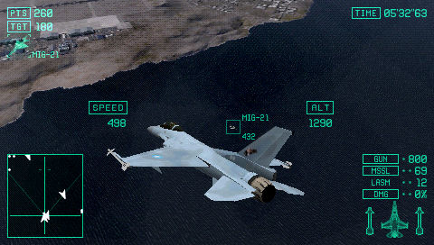 Ace Combat X: Skies of Deception - 05699