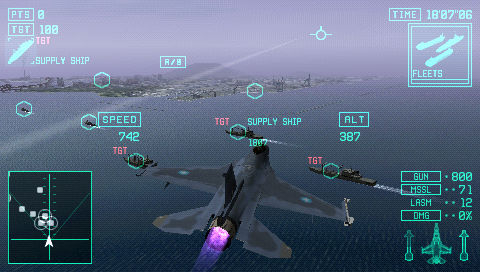 Ace Combat X: Skies of Deception - 05700