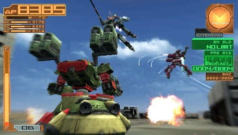 Armored Core: Silent Line Portable - 12081