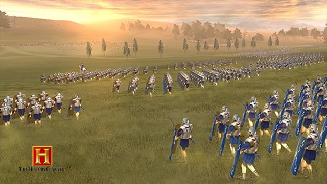Great Battles of Rome: Present by History Channel - 07809